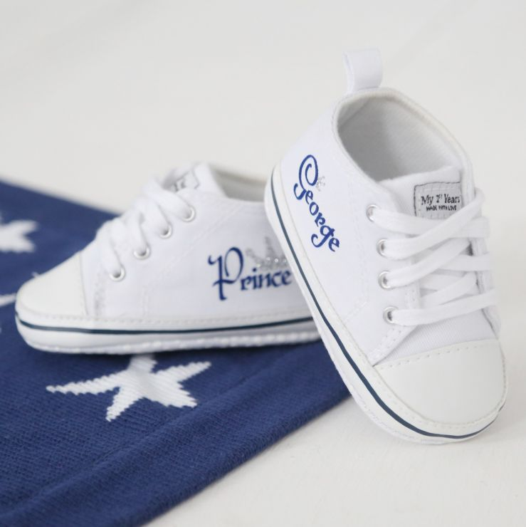 Personalised Prince High Top Trainers