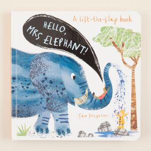Hello! Mrs Elephant Board Book