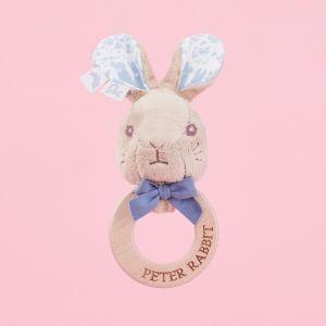 Peter Rabbit Wooden Rattle