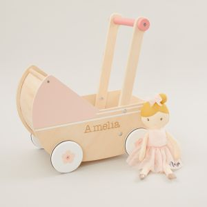 Pram and Doll Gift Set Personalised
