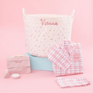 Personalized Pink Playtime & Pajamas Gift Set