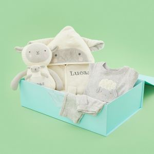 Personalised Little Lamb Time for Bed Gift Set