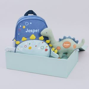 Personalised Little Dino's Day Out Gift Set