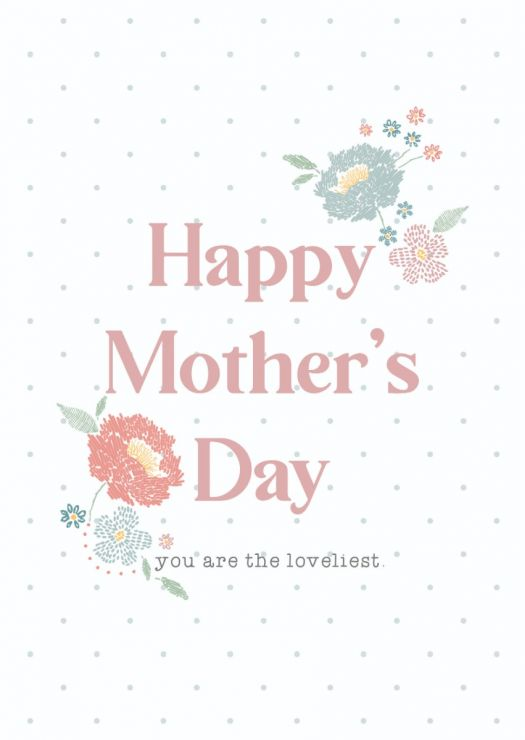 Personalised Mother's Day Greetings Card