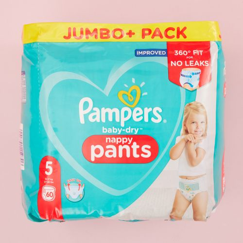 Pampers Size 5 Baby Dry Pants (Jumbo Cube Pack)