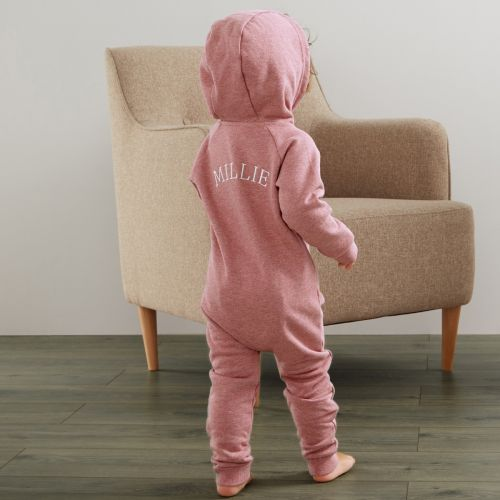 Personalized Jersey Onesie - Pink