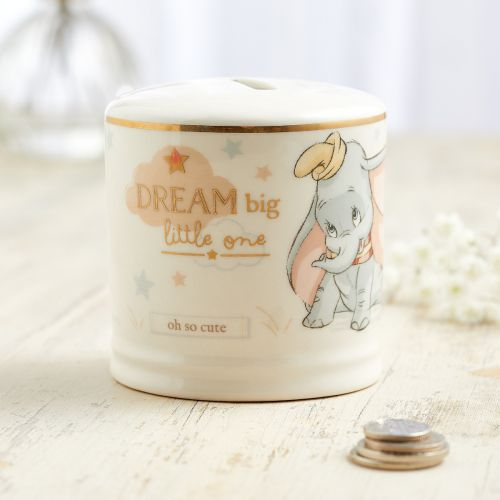 Personalized Disney Dumbo Ceramic Money Box