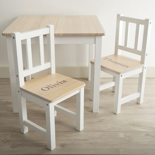 Personalised Table & Chairs Set