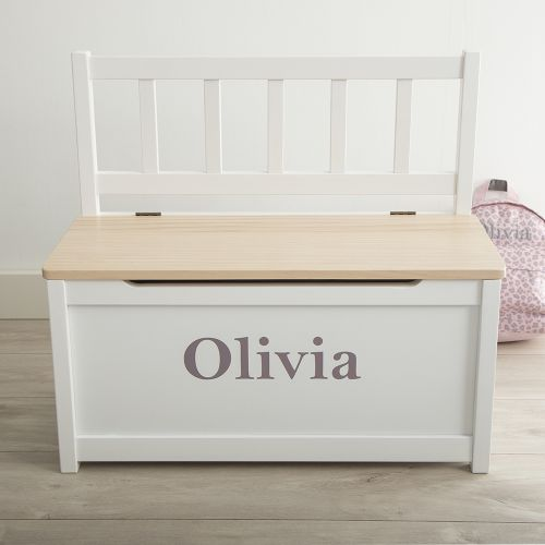 Personalised Toy Box & Bench