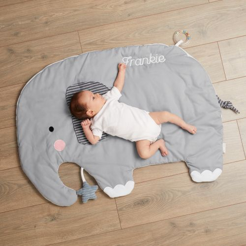 Personalized Gray Elephant Activity Playmat - Model