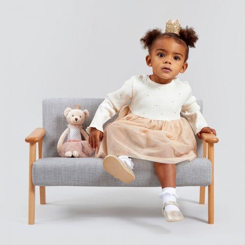 Personalised Princess Bear Soft Doll