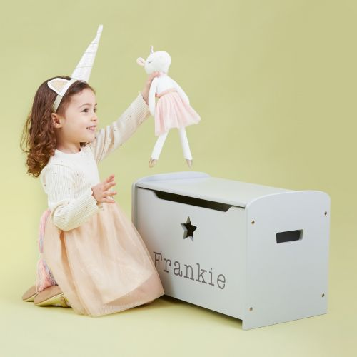 Personalised Unicorn Soft Doll