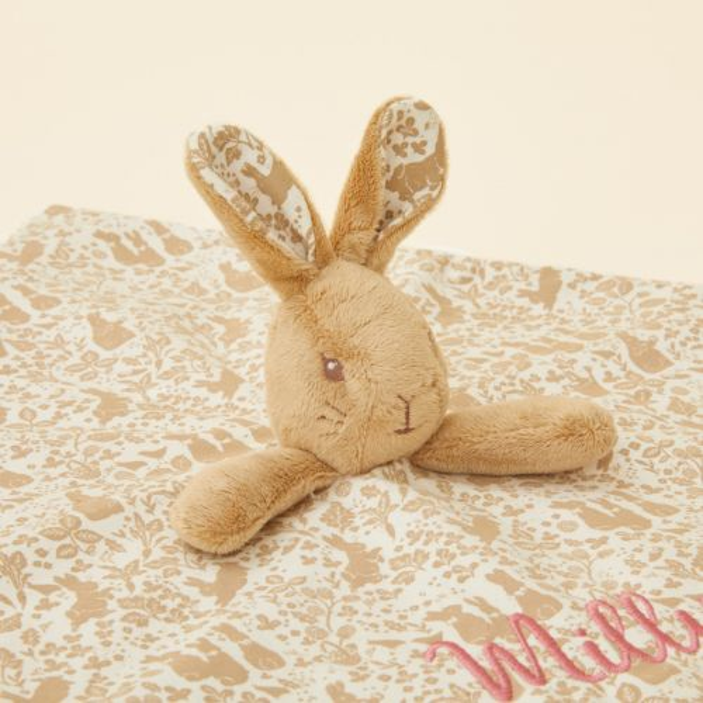 Personalised Flopsy Bunny Comforter