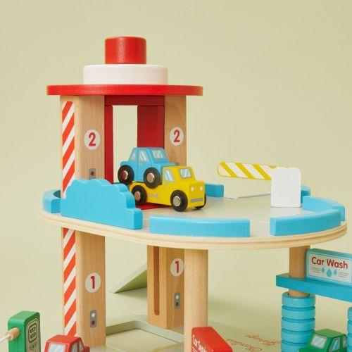 Personalised Big Jigs Garage Wooden Toy