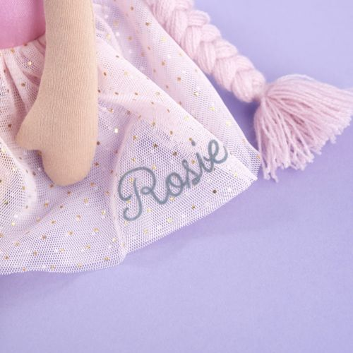 Personalised Rapunzel Soft Doll