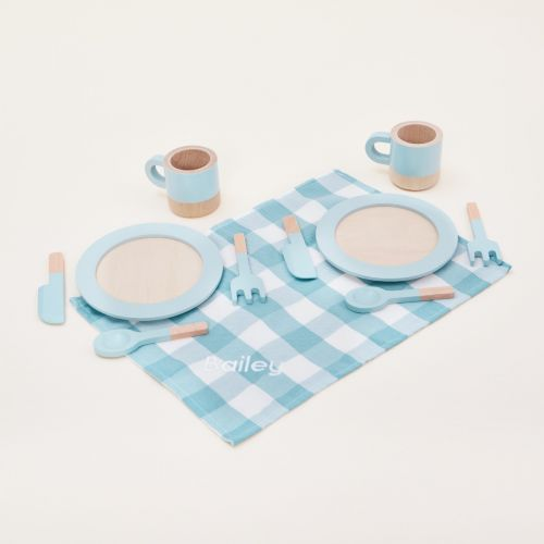 Personalised Wooden Dining Play Set