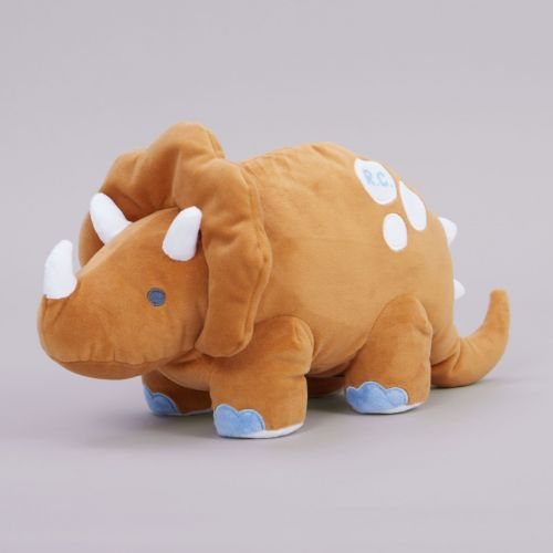Personalised Glow In The Dark Dinosaur Soft Toy