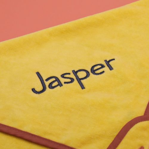 Personalised Lion Hooded Towel