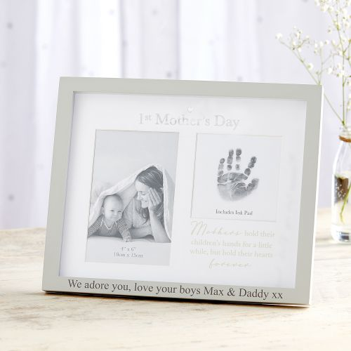 Personalized 1st Mother's Day Frame