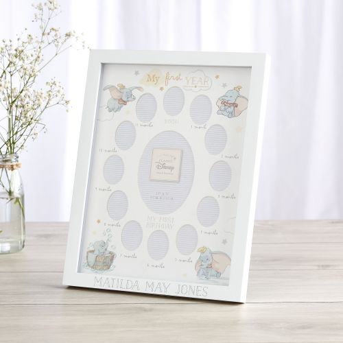 Personalized Disney Dumbo My First Year Picture Frame