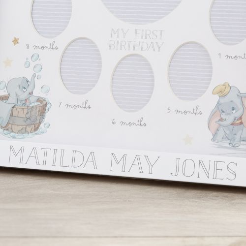 Personalised Disney Dumbo My First Year Photo Frame