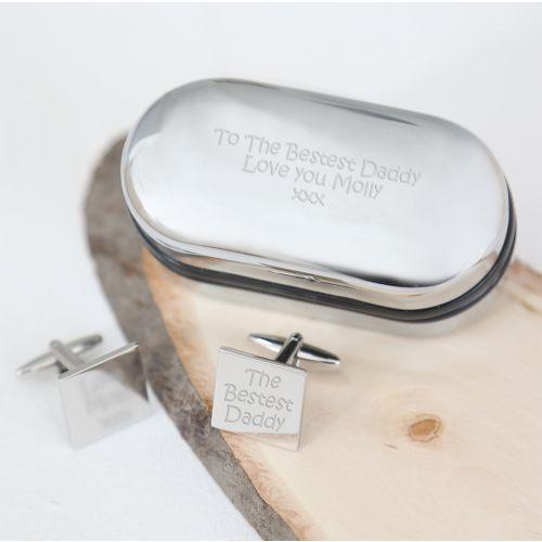 Personalised Cufflink Box