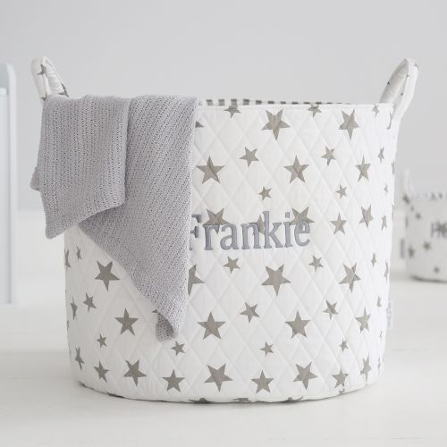 Large White Star Storage Bag
