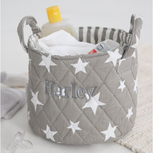 Mini Grey Star Storage Bag