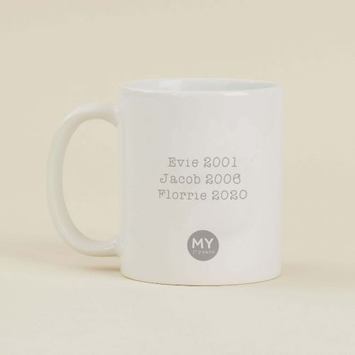Personalised 'My Favourite' Mug