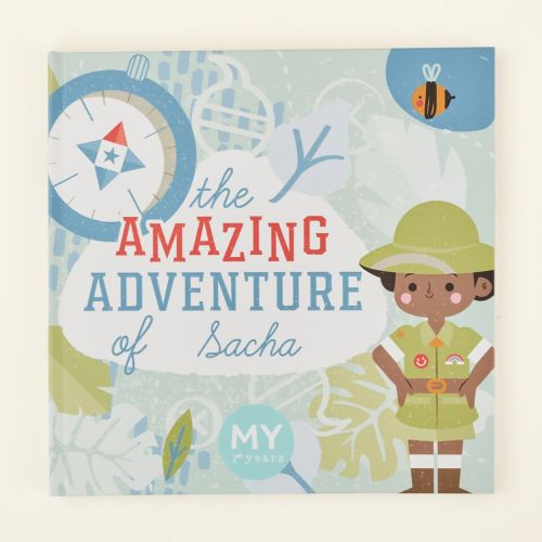 Personalised The Adventure of You Story Book Hardback
