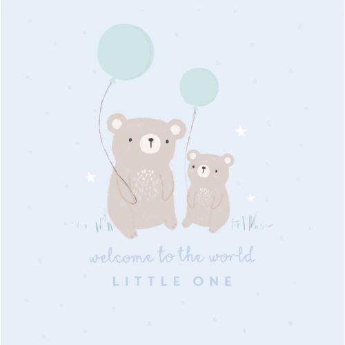 'Bear' Welcome Card