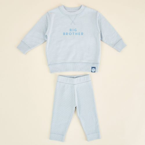 Personalised Blue Sibling Outfit Set