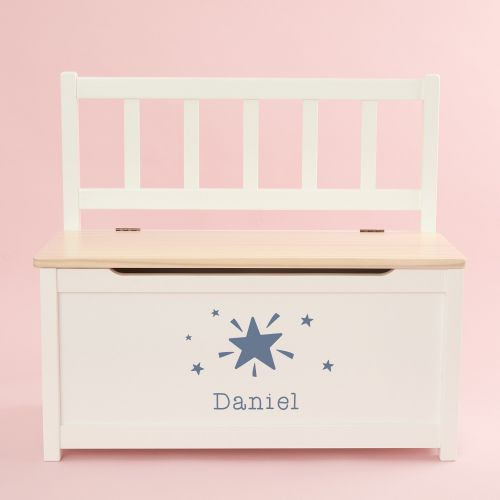 Personalised Shining Star Design Toy Bench