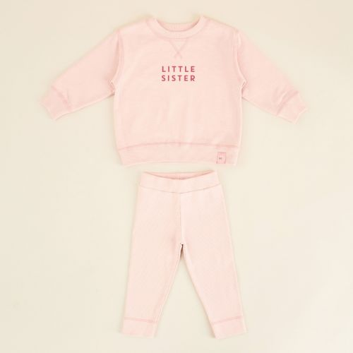 Personalised Pink Sibling Outfit Set