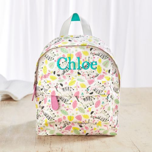 Personalized Zebra Print Mini Backpack