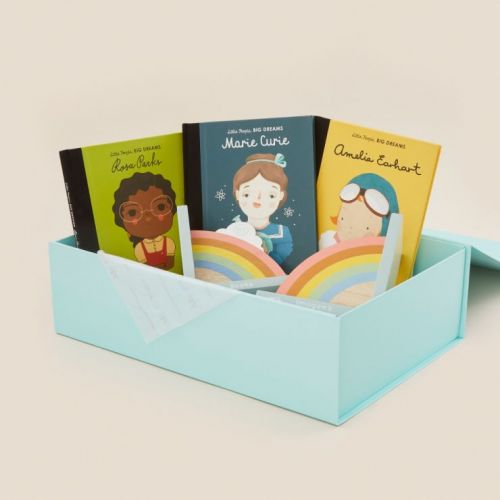 Personalised Little People, Big Dreams Mini Feminists Book Collection