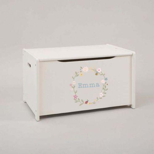 Personalised Woodland Wonder Toy Box