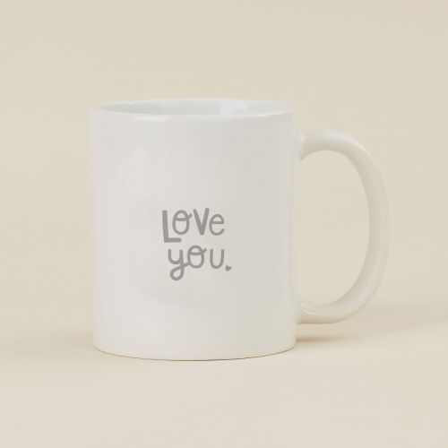 Personalised Grey Mother's Day Design Mug