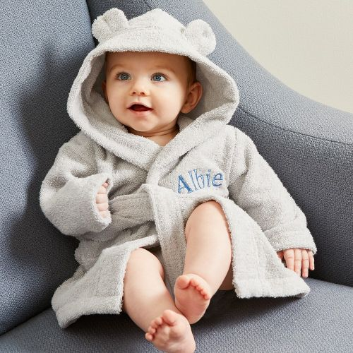 Personalized Hooded Towelling Robe