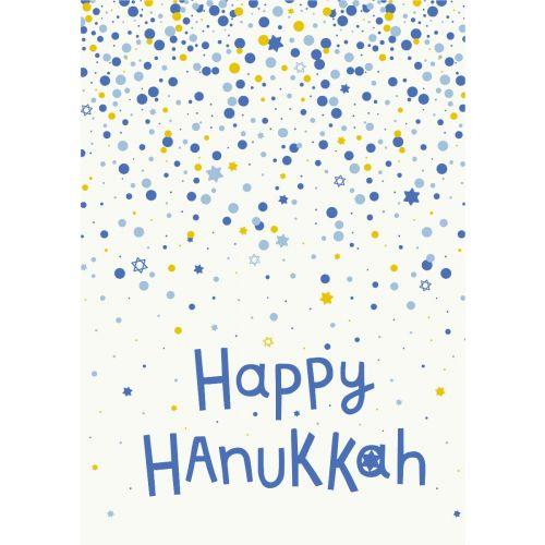 Personalised Happy Hanukkah Greetings Card