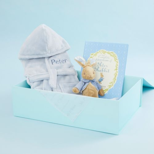 Personalised Peter Rabbit Read, Play & Snuggle Gift Set