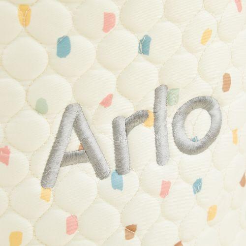 Personalised Ivory Polka Dot Storage Bag Set
