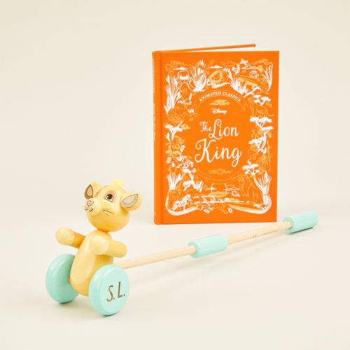 Personalised Little Lion Read and Play Gift Set