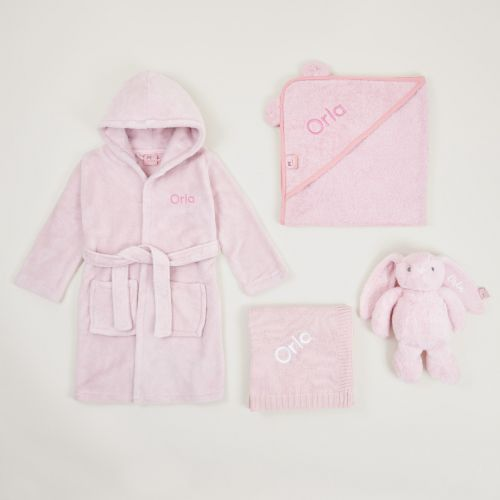 Personalised Pink Bedtime Essentials Gift Set