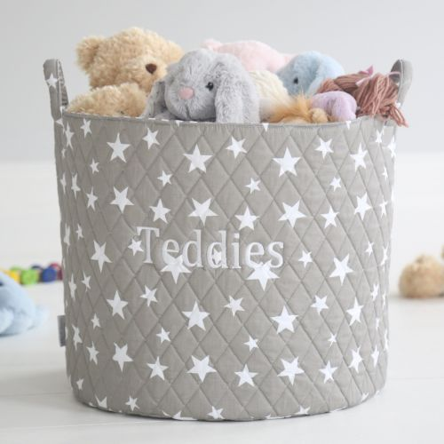 Large Gray Star Storage Bag