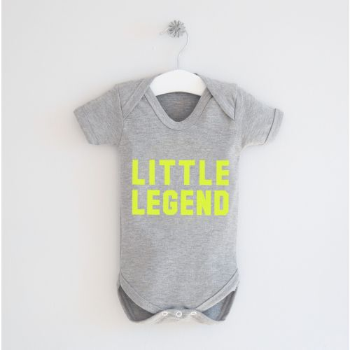 Gray 'Little Legend' Bodysuit