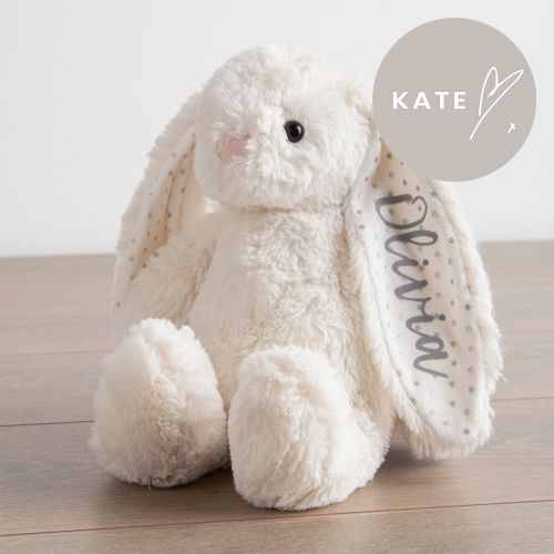 Personalised White Bunny Soft Toy