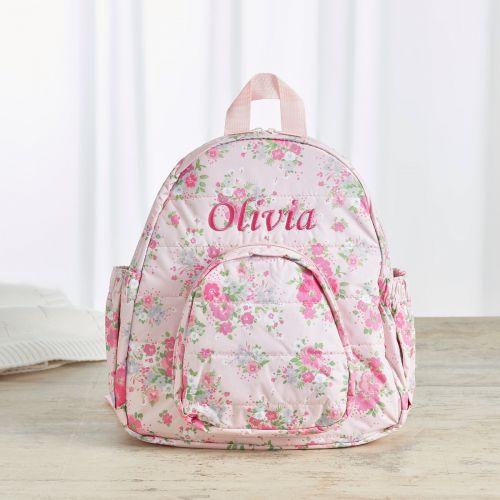 Personalised Ditsy Print Mini Backpack