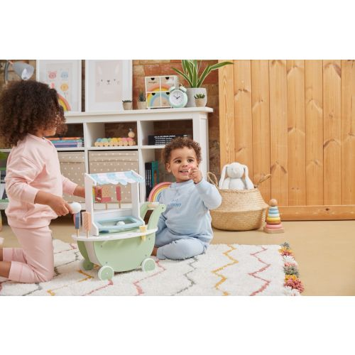Personalised Wooden Ice Cream Stand Play Set