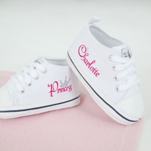 Personalized Princess High Top Sneakers